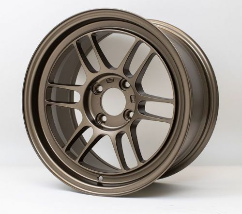 ENKEI RPF1-RS 15x8 ET 28  Wheels, Set of Four Available  in Bronze or Silver
